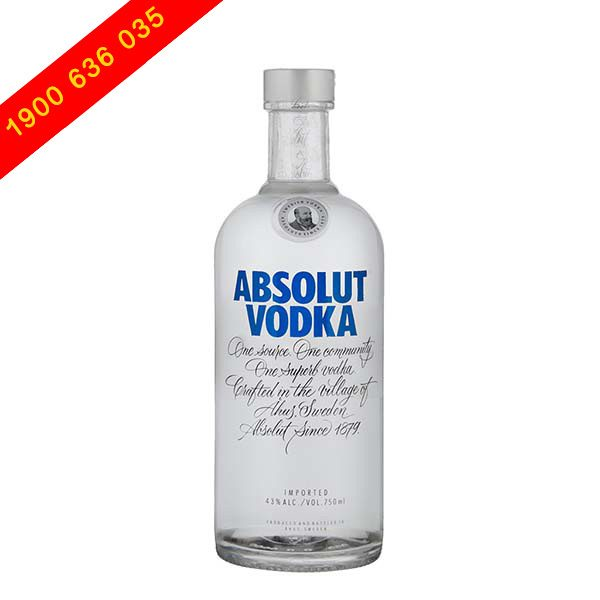 Rượu Absolut Vodka