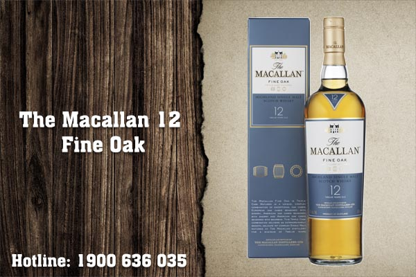 The Macallan 12 Fine Oak
