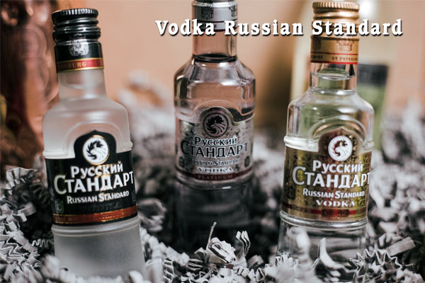 Rượu Vodka Russian Standard