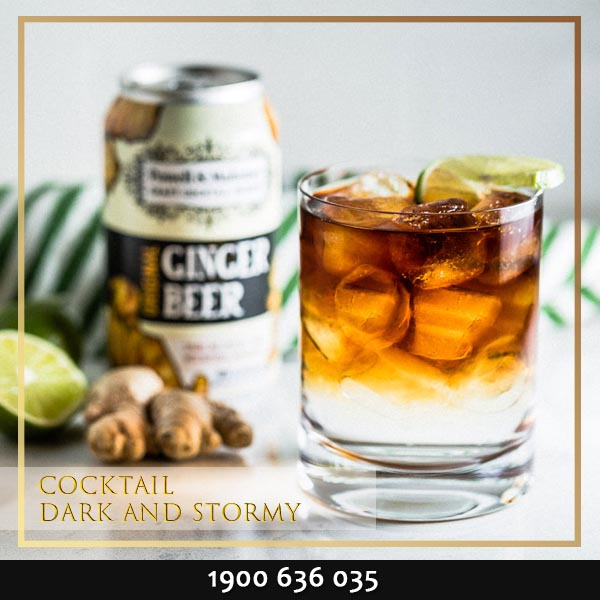Cocktail Dark and Stormy